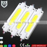InGaN Material led injection module with CE RoHS Certification dc12v custom led cob module for advertisement led sign