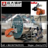 Factory Supply fully automatic diesel fired hot water steam boiler for sale