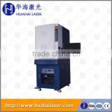 10w Fiber laser marking machine on stainless steel travel mug