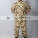 Customized unique black military uniform tactical uniform