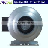 4 inch centrifugal type ventilation tube fan