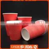 wholesale popular new red solo paper cup sleeves