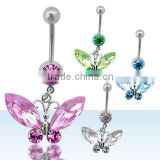 Belly button ring, navel ring, belly body piercing jewelry, navel body jewellery, belly ring, belly jewellery