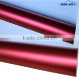 Removable pvc self-adhesive Chrome pearl metallic matte red chrome vinyl car wrap
