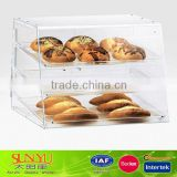 Acrylic Three Tray Bakery Display Case