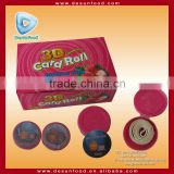 3D card bubble gum roll