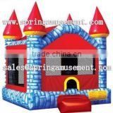 Cheap sale blue red inflatable bouncer SP-IB090