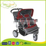 BS-56B safe vibration system luxury baby pram china stroller double baby jogger