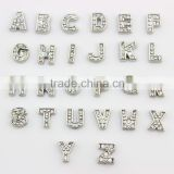 "DIY Hot Sliver Rhinestone Floating ""A""- ""Z"" Alphabet 26 Letter Charms Fit Locket"