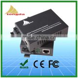 Gpon media converter 10/100/1000Mpbs Single Fiber 20KM SC fiber optic to RJ45 converter