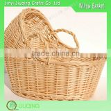 Wicker Baby Pram Basket For Baby Shower Baby Wicker Moses Basket