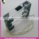Acrylic fashion clear acrylic clutch bag Any color are available