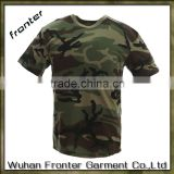 Best price new cotton plain army green t-shirt blank camo t shirts                                                                         Quality Choice