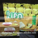 Whole Sale Durian Snack LIPO Durian Cookies 230g per bag