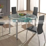 L802 Extendable Dining Table Round Living Room Table