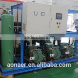 water cooled condensing unit for cold storage room