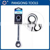High Quality Double Ratchet Ring Wrench Spanner
