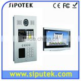 10Inch TFT Touch Screen Indoor Monitor Intercom System SIP IP Smart Video Door Phone