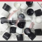 Plastic cap for essential oil bottle with plastic insert, tamper evident cap                                                                         Quality Choice