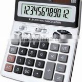 12 digits electronic printing calculator metal panel KT-8613N