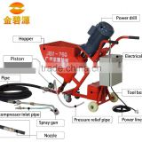 JBY760 Cement Mortar Spray Grouting Pump for widely used