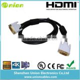 DVI to HDMI Cable 6ft Male-Male
