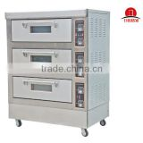 Sinochef 3 Deck 6 Trays Large Electric Oven Bakery                                                                         Quality Choice