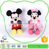 Premium Quality Custom Tag Soft Plush Toy Christmas Decorations Mickey