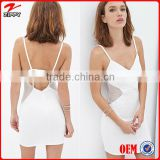 2016 Strap Mesh Panels Club Dresses/Wholesale Cut-out Bodycon Dress