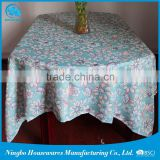 Factory direct supply hot selling using convenience table cover,flannel back plastic tablecloths