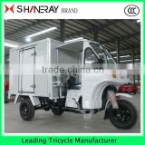 made in China CARGO FOOD TRICYCLE with semi-closed cabin