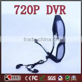 12M Pixel HD Sunglasses DVR with earphone