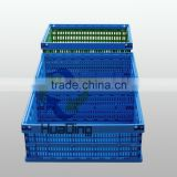plastic collapsible colorful storage tool box/plastic basket/multipurpose plastic box HDFG-604028C and CL
