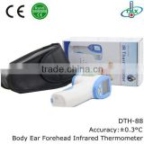 Human Body Forehead Fever Digital Medical Infrared Ear Thermometer