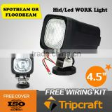 5.7'' 35w hid work light 3200lum hid xenon off road lamp for suv boat truck tractor hid driving lamp auto working light