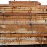 Professional steel railway sleeper Anti-vibration wooden Railway sleepers with high quality
