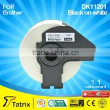 DK11201 high quality Label tape for Brohter printer for QL-700