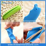 comfortable easy shopping silicone bag holder handle/grip