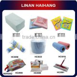 China wholesale OEM supply all purpose dry polyester spunlace nonwoven kitchen cleaning cloth
