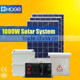 Moge inverter solar panel energy power system for home 350w 550w 1kw 2kw 3kw 4kw 5kw manufacturers in china XT-GP-X1000