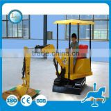 Amusement park toy kids electric digger/mini kids excavator/excavator for children for sale