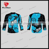 2016 Unique Personalized Motocross Jersey Lettering Mountain Bike Downhill Jerseys MTB BMX Bike Shirts