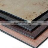 brushed decorative material /surface aluminum composite panel/brushed aluminum decorative panel(ACP)