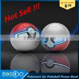 New 12000mAh Pokemons Go Ball Power Bank Magic Ball Charger Double USB Port for All phones