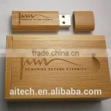 2015 New OEM Gift Wooden Sets USB Sticks New Custom Wooden Silk Print logo usb 2.0 memory flash stick pen drive wedding gift