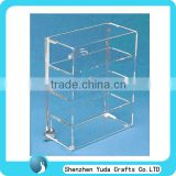 countertop acrylic display bread showcase accessories display showcase lockable display showcase customized plexiglass