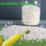 Biodegradable cornstarch plastic raw material