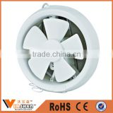 Plastic round ventilation fan small ceiling wall mount kitchen exhaust fan