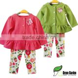 2014 New Infant Baby Clothing Sets Girls Carton suits baby outfits Kids Valentine's Day Clothes baby suits