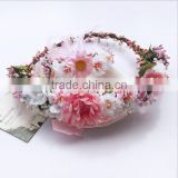 Latest Marry Gifts Accessories for Girl Nice Garland Wear Pearl Decoration Girl Headbands
